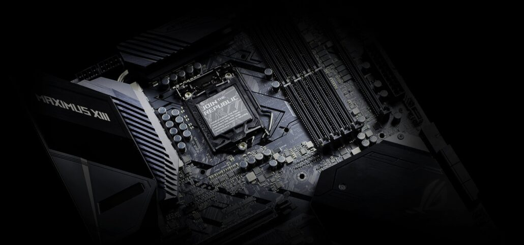 ASUS ROG Maximus XIII motherboard with Intel Z590 _1 chipset
