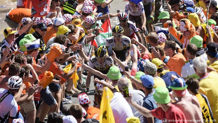 France Tour de France Alpes de Hays.