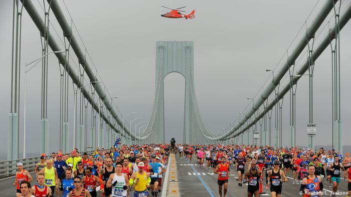 USA New York Marathon.