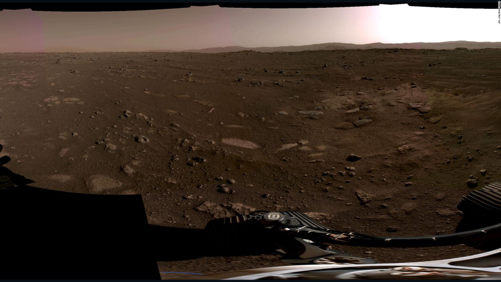 Hear the first acoustic perseverance sent from Mars