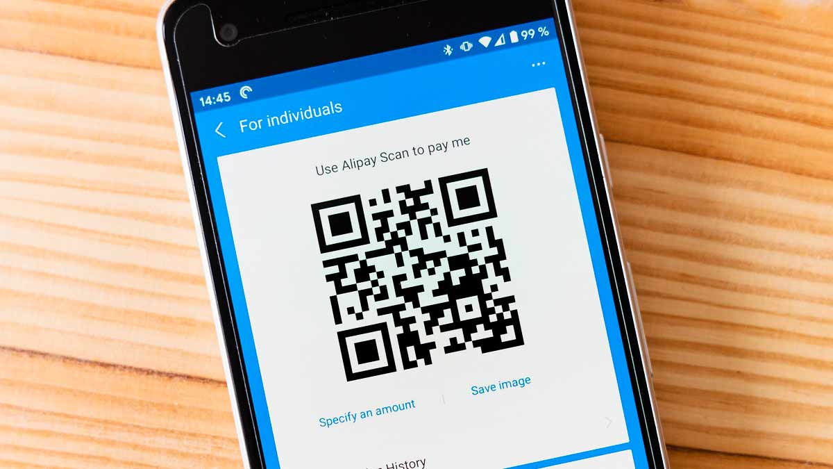 App for infected QR codes