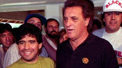 El Coco doesn't want to hear anything about Maradona's death.
