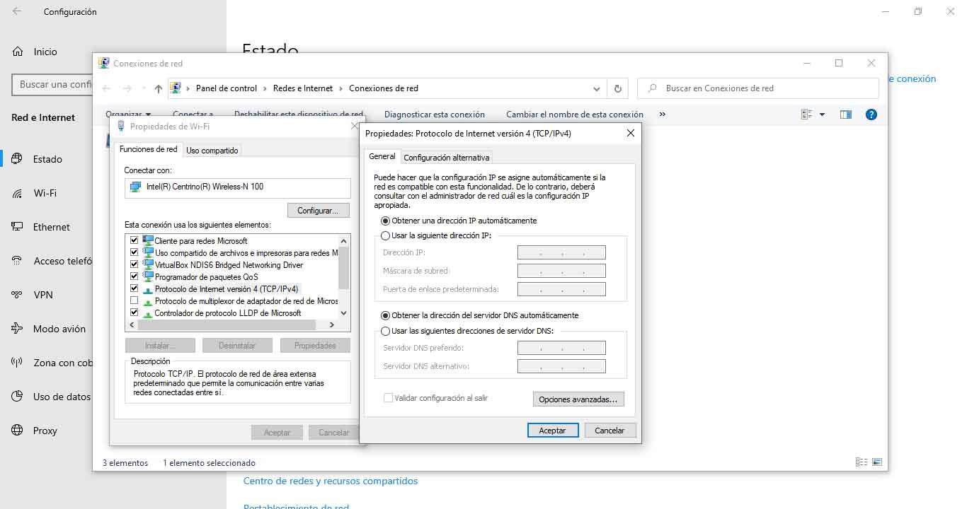 Change DNS in Windows