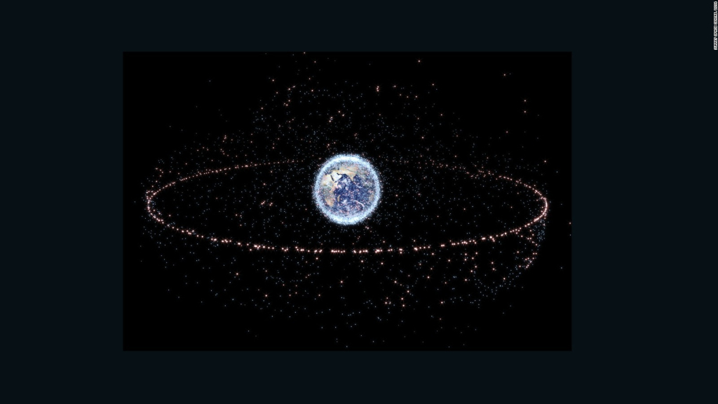 This is how they want to clean out space debris from our orbit