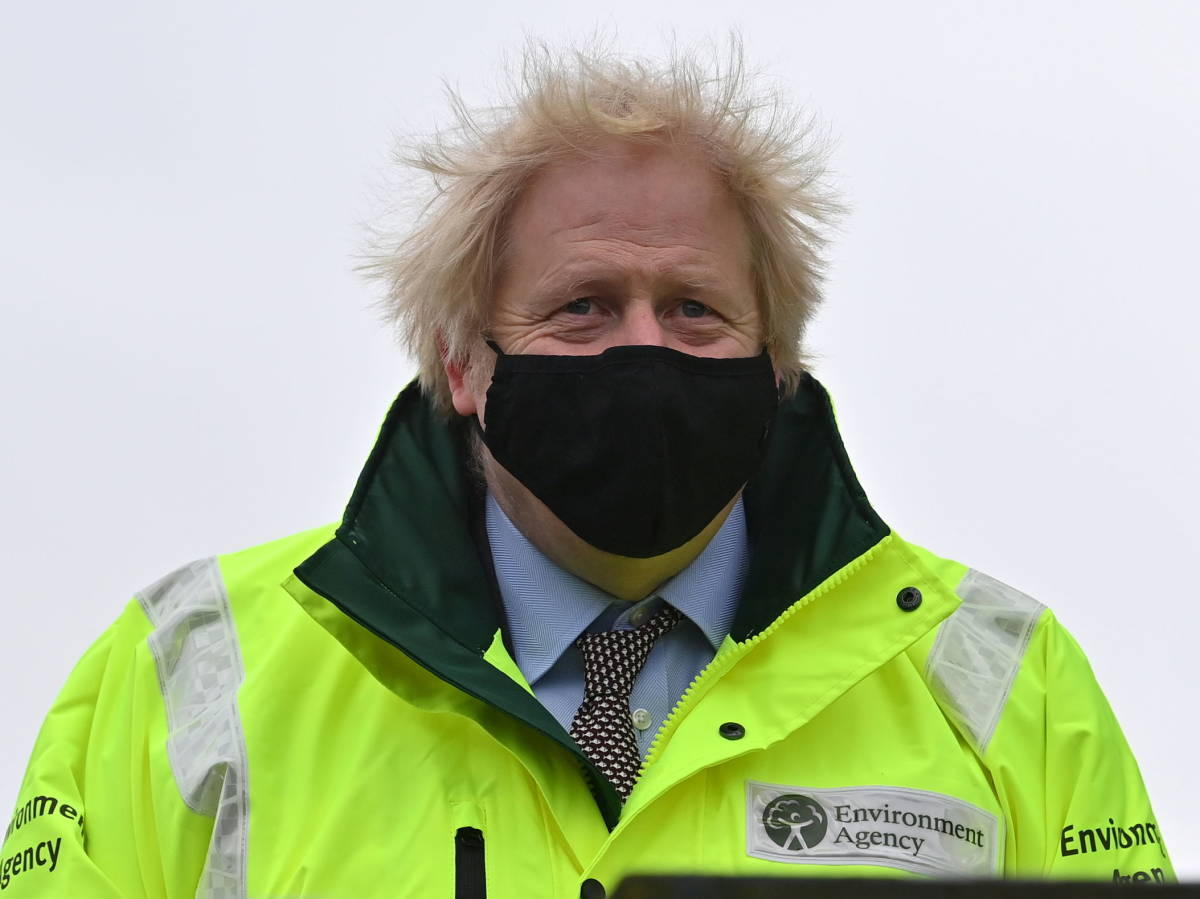 Photo: British Prime Minister Boris Johnson (Reuters)