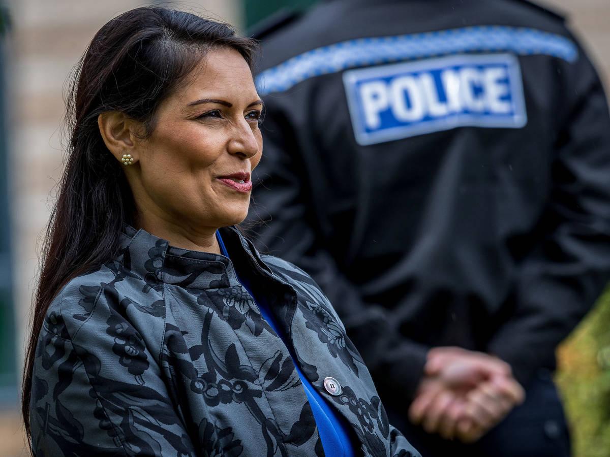 Photo: Priti Patel, UK Home Secretary.  (Reuters)