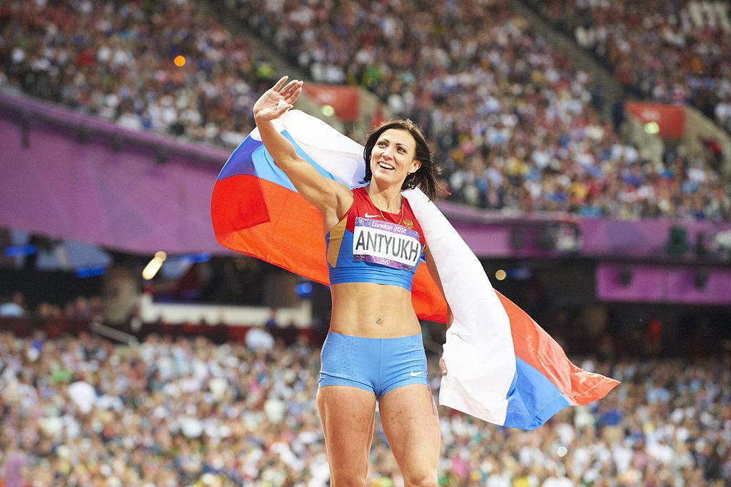 Russian athlete