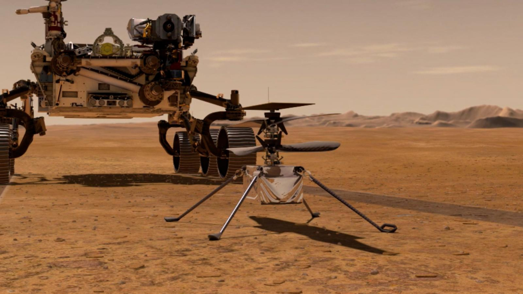 NASA is the first helicopter flight to another planet