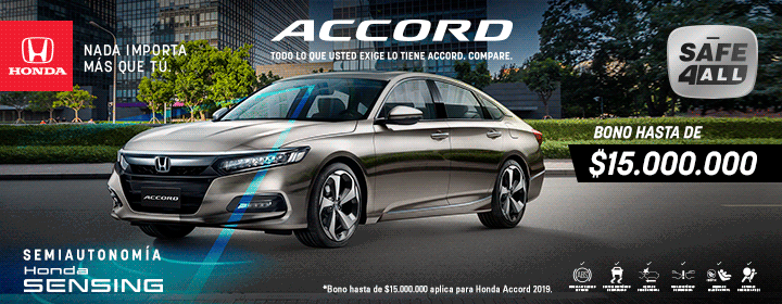 Honda Accord in Colombia