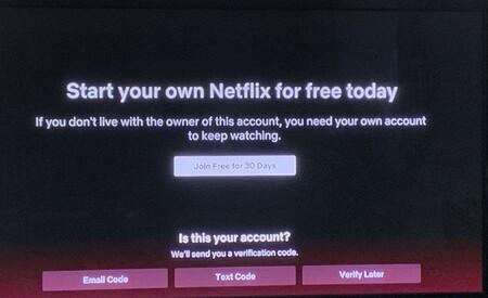 Sharing a Netflix account