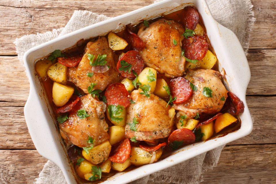 A mix of chicken with chorizo ​​wins the UK.  (Image: Getty Images)