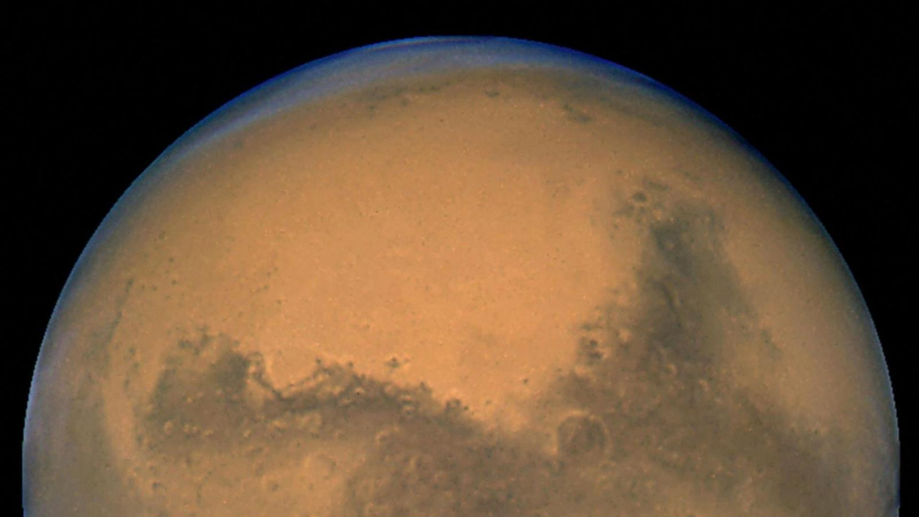 This is the weather on Mars, and we tell you here