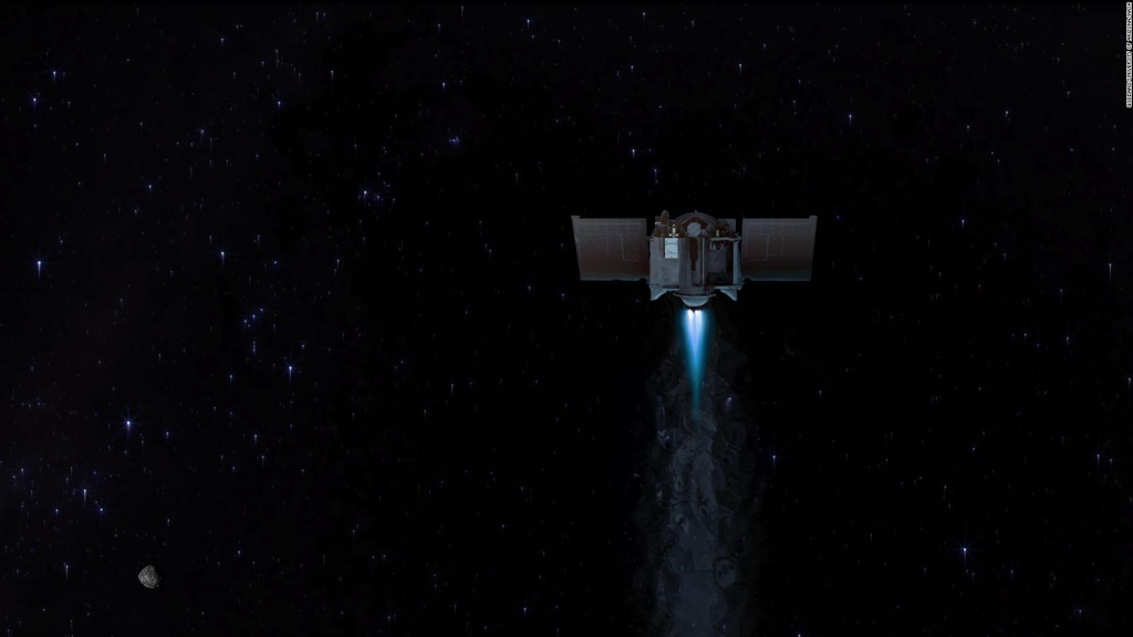 NASA spacecraft takes recent images of the asteroid Bennu