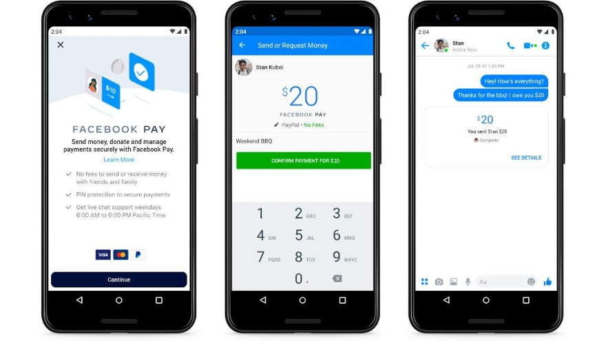 Facebook is expanding its payment experiences on Facebook Pay in other areas of its apps and services
