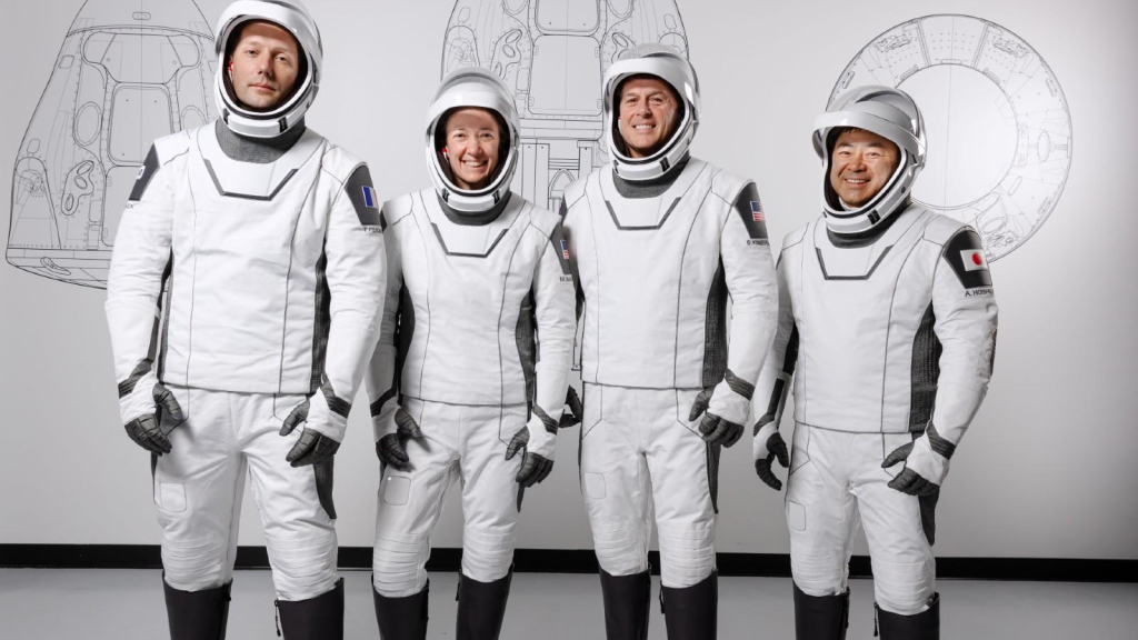 SpaceX Crew-2 astronauts leave April 22