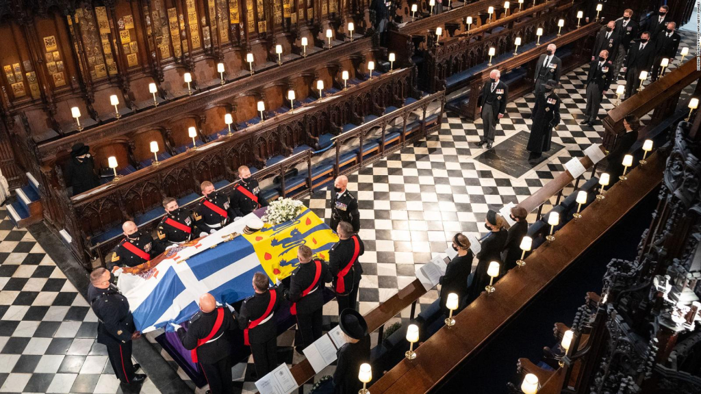 A solemn and intimate funeral for Prince Philip