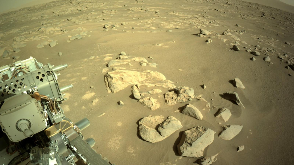 Was there life on Mars?