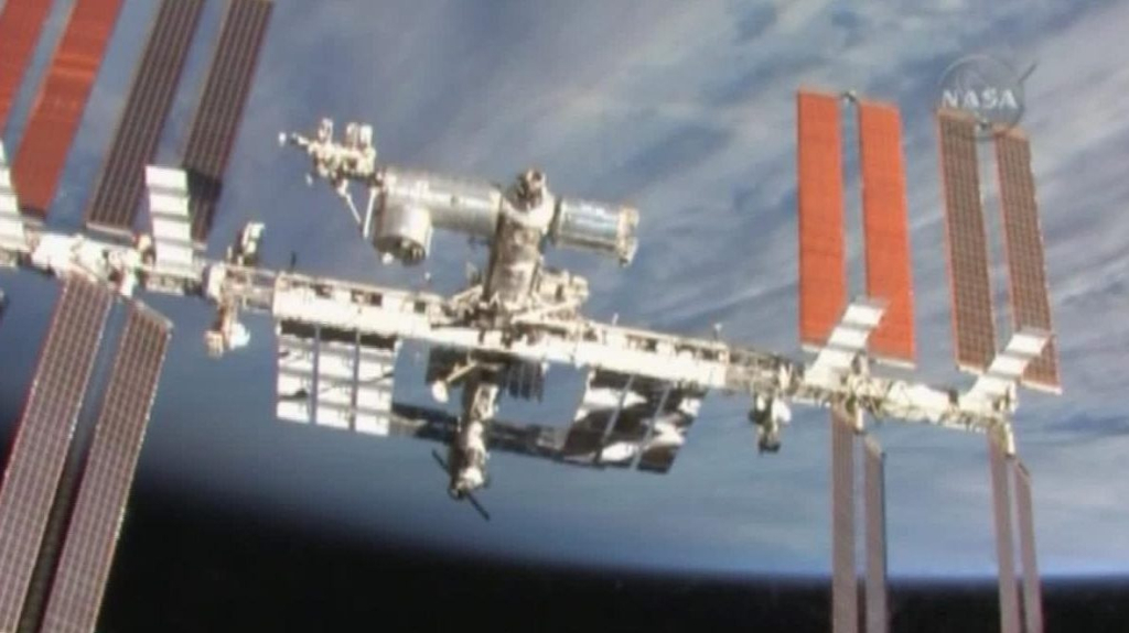 NASA is investigating the cause of a hole in the International Space Station