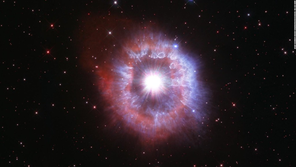 See a star on the verge of self-destruction in hologram