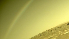 Did you persistence picked up a rainbow on Mars?