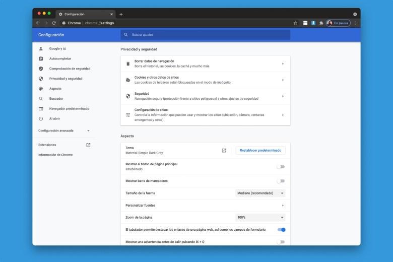 Tricks for Google Chrome - Privacy