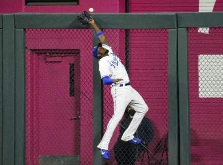 Jorge Soler, of the Kansas City Royals, in the match against Indiana Cleveland.