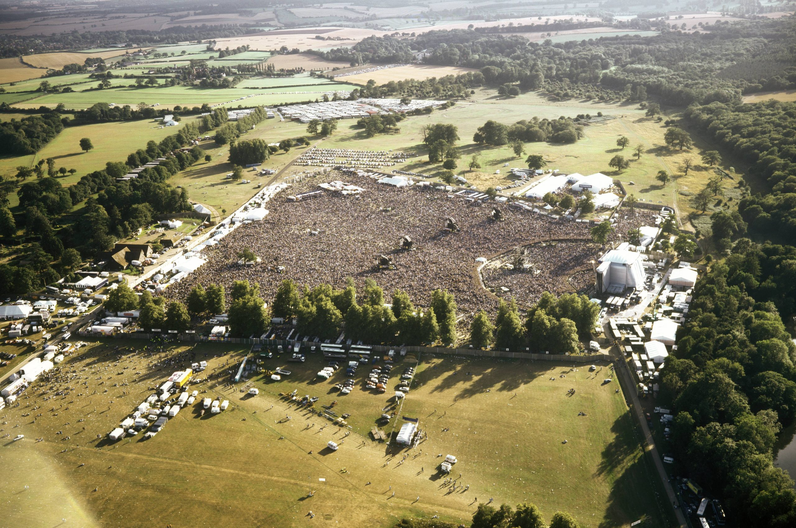 Noelle and Liam Gallagher working on a documentary on Knebworth's oasis shows
