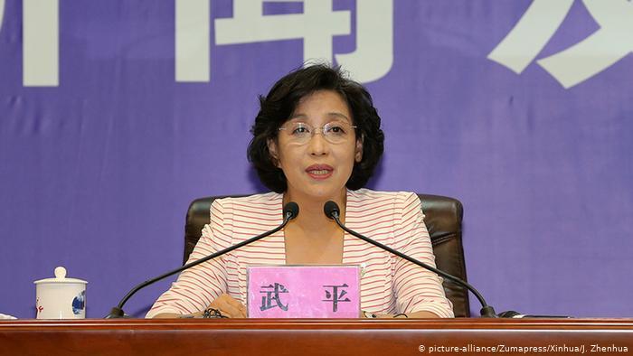 Wu Ping, director of the China Aerospace Engineering Bureau.