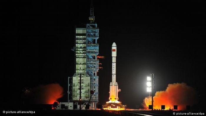 Tiangong-1 launch