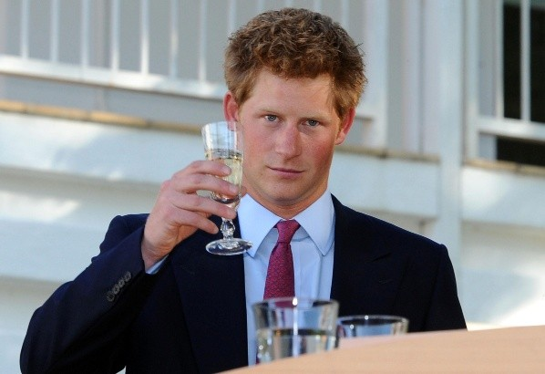 Prince Harry in his youth.  Photo: (Getty Images)