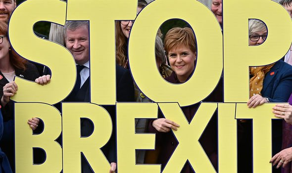 Brexit: The Scottish National Party used Brexit as an argument for independence