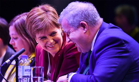 Nicola Sturgeon: Blackford and Sturgeon have been close allies throughout their careers