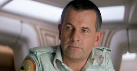 Ian Holm (Ashe) in a still from the movie 'Alien: The Eighth Passenger'