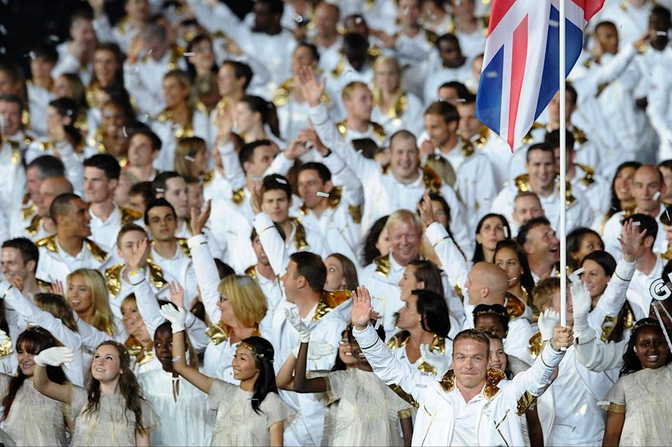 As the Olympic host, Team Great Britain will choose & # xf3;  For a look that is simple but no less effective (Laurence Griffiths / Getty Images)