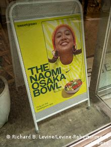 In New York, you can order a Naomi Osaka Bowl for lunch.