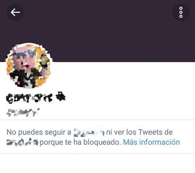 Banned user on Twitter
