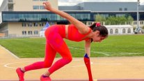 Amanda Serna finished first in the 200m T47 at the Nottwil Grand Prix