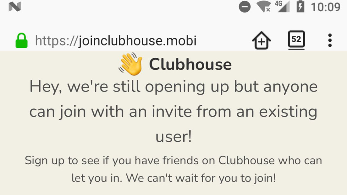 Warning for Android users: Do not download this application presented as Clubhouse