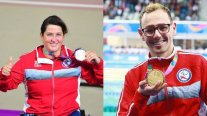 Francesca Maradones and Alberto Abarza will be Chilean flag bearers at the Paralympics