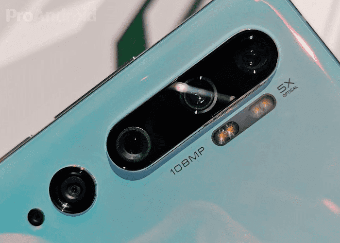 Xiaomi Mi Note 10 camera