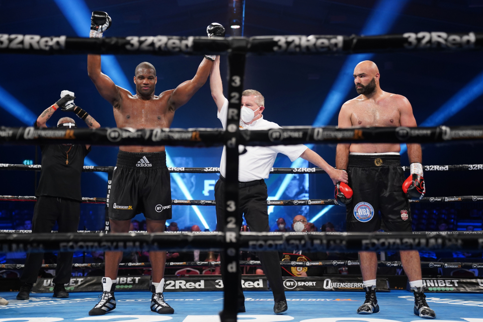 Daniel Dubois hopes to take another step towards a world title battle
