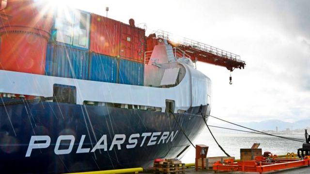 German icebreaker Polarstern.