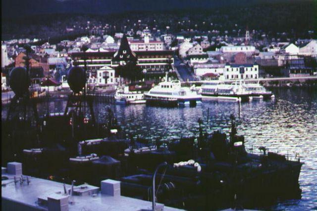 Ushuaia docks