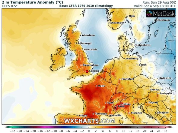 UK warm weather forecast: High pressure could sweep the UK this week