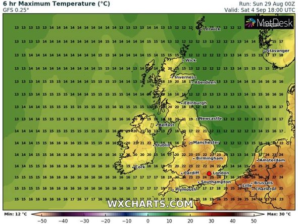 Hot weather forecast in the UK: Southern England could see sweltering heat