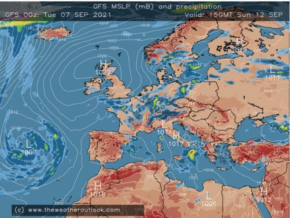 UK lightning forecast: Stormy conditions may come from the West