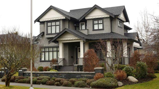 House in Vancouver for Meng Wanzhou's family, Huawei CFO