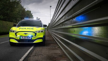 Ford Mustang Mach E Police UK 5