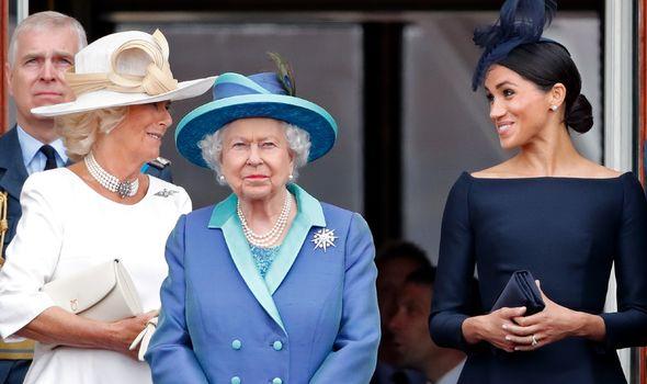 Camilla, Megan is the queen of roaming in color