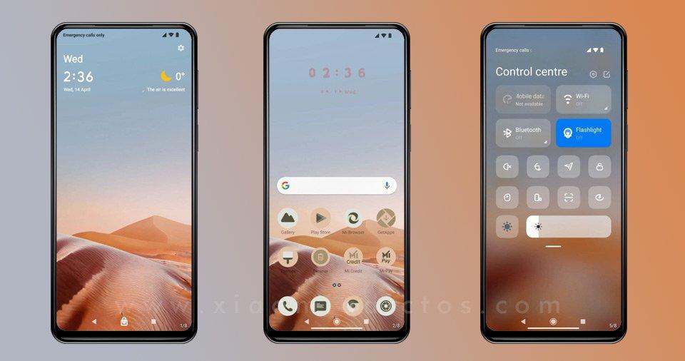 Version Tema Android 12 Theme